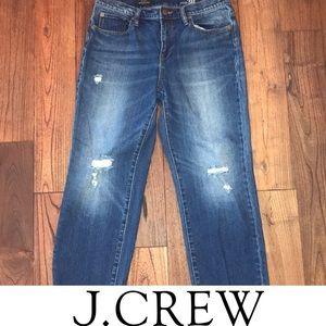 J crew wide leg cropped jeans